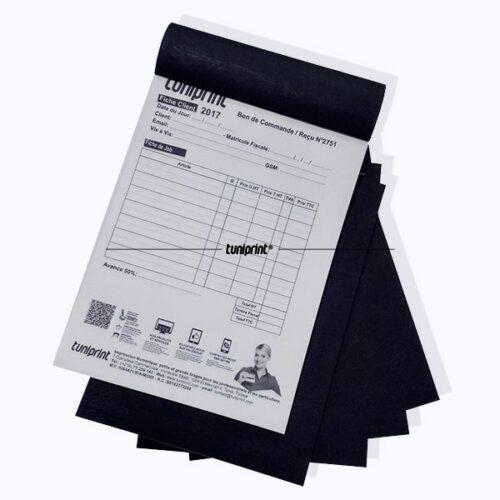 Carnet Autocopiant NCR - 3 souches