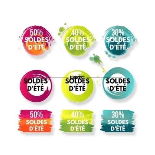 Stickers Soldes d'été