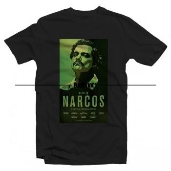 T-shirt de la série tv US - Narcos - Affiche Officielle