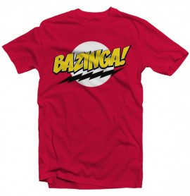 T-shirt The Big Bang Theory - Bazinga