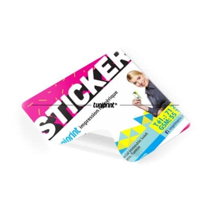 Stickers rectangulaire